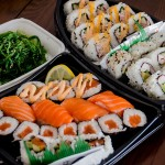 sushi delivery;