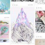Curated Tumblr blogs;